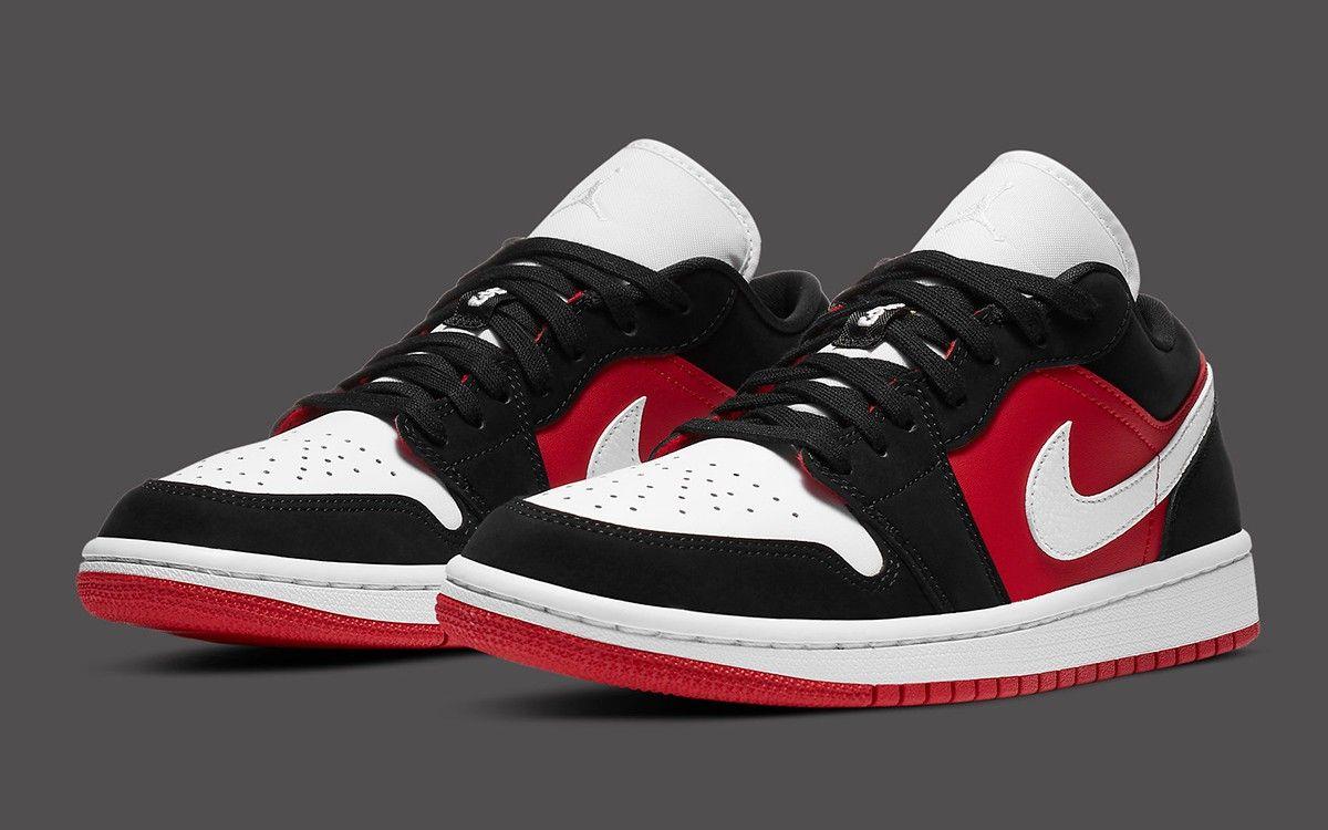 Pin by Jordi Miralles on Sneakers | Jordan 1 low gym red, Sneakers ...