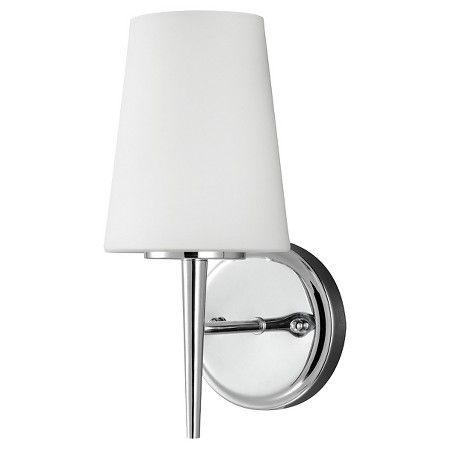 Target Bathroom Sconces sea gull lighting wall lights - chrome | gull, target and metal walls