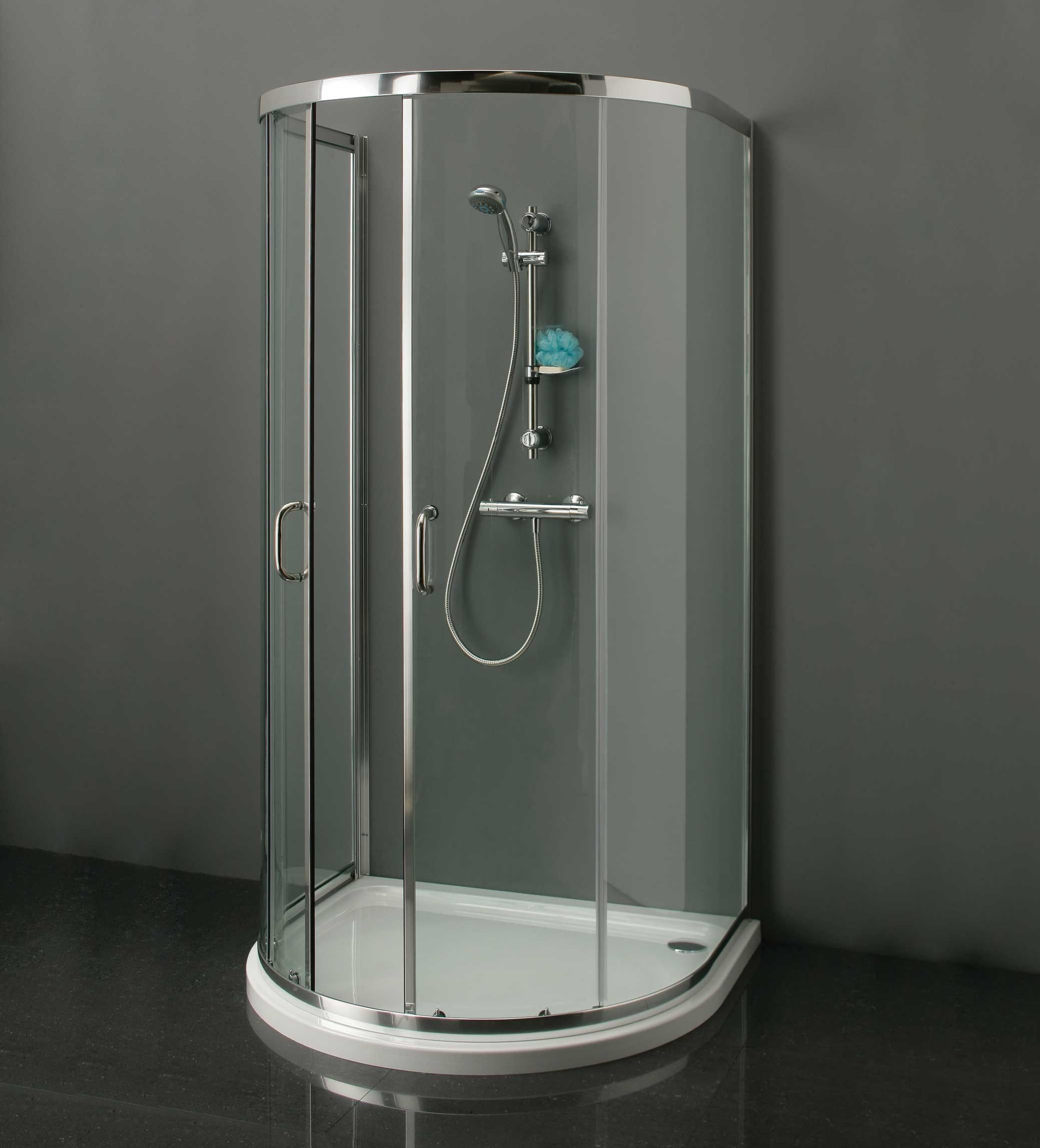 Technik D Shape Shower Enclosure 915mm X 1040mm 64500 6mm