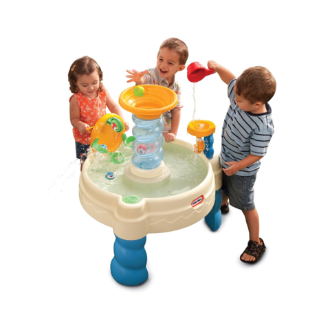 The Bold And Bright Little Tikes Spiralin Seas Waterpark Will Provide Kids With Hours Of Fun As Well Help Develop Their Motor Skills