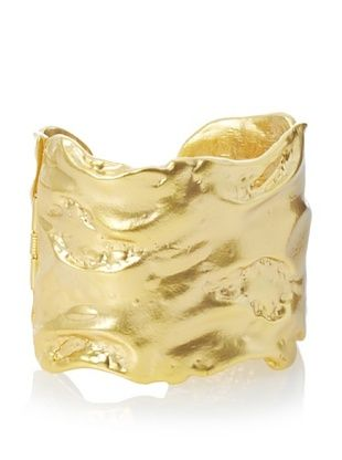 Kenneth Jay Lane Free Form Cuff Bracelet