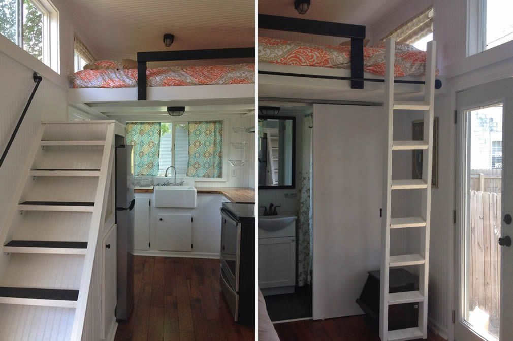 Ladder Or Stairs? This Tiny House Has Both   Http://www.