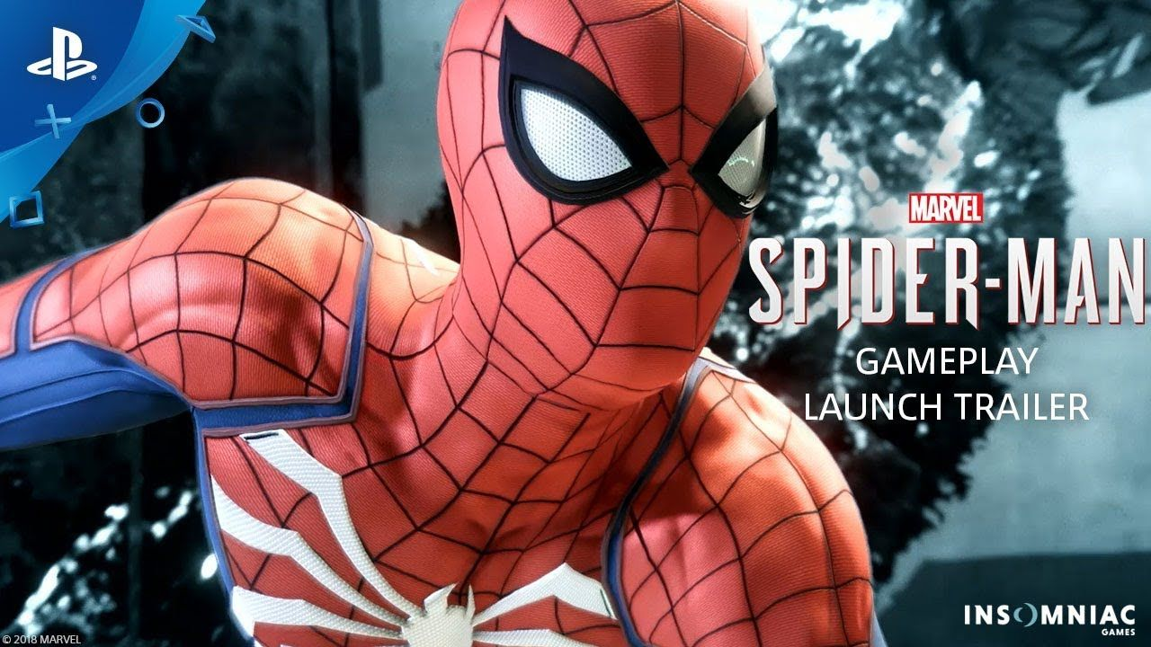 marvel's spider-man – gameplay launch trailer | ps4 | spiderman