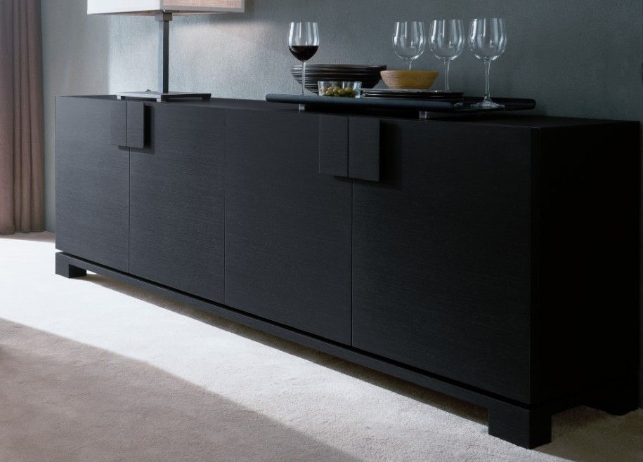Modern Dark Wood Credenza : Amazing stylish and modern sideboards by jesse : ns63 furniture