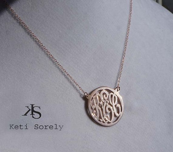 10k Solid Gold Mini Monogram Necklace With Round Frame Personalized Initials Charm Necklace Order Any Initials Monogram Initial Necklace Monogram Etsy Jewelry