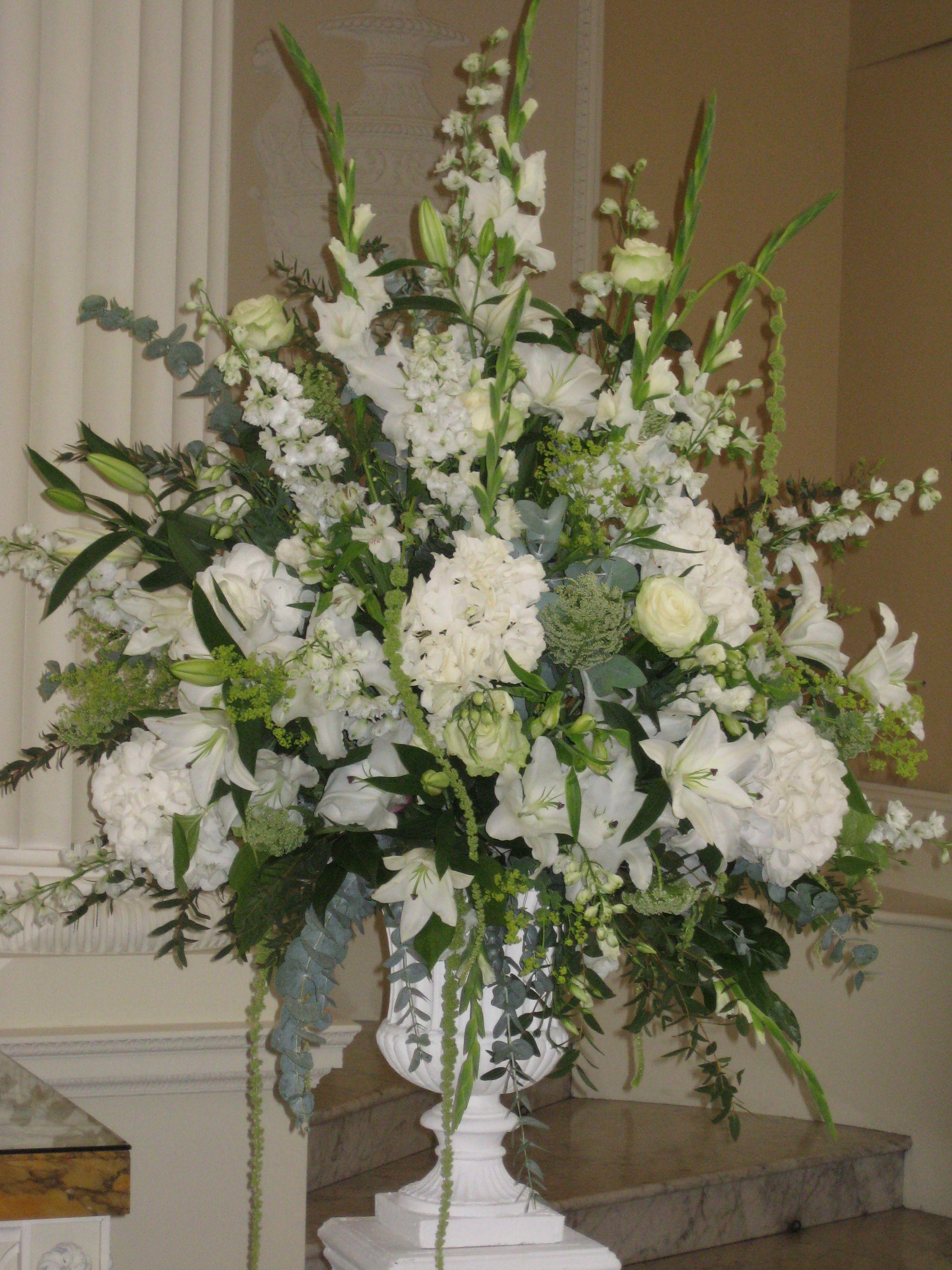 image result for church pedestal flower arrangements in 2019