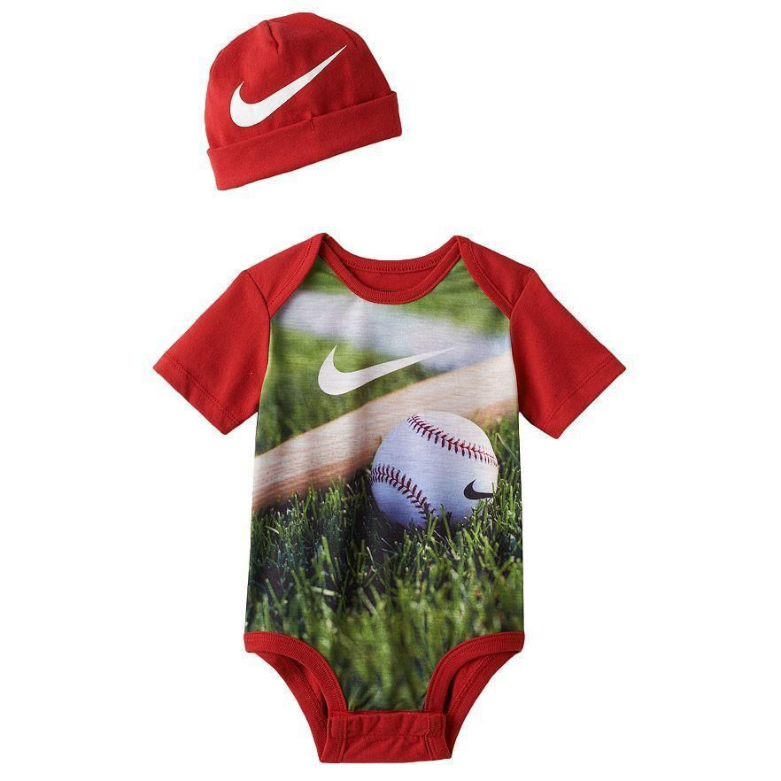 Nike Creeper Hat Set Baby Boy 0 3 Month Garnet Red Baseball 24 New With Tag Baby Boy Shoes Baby Boy Nike Baby Boy Outfits