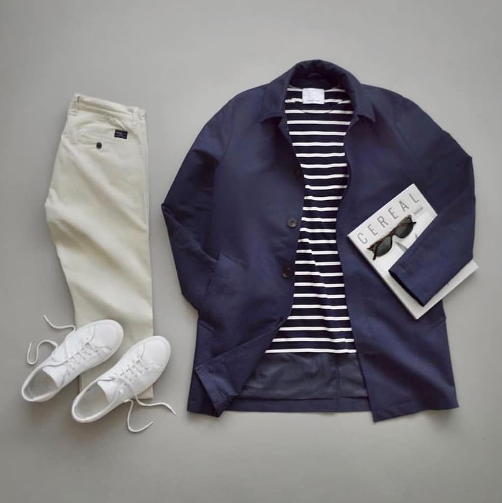 Men's Fashion Outfit Grid 2019