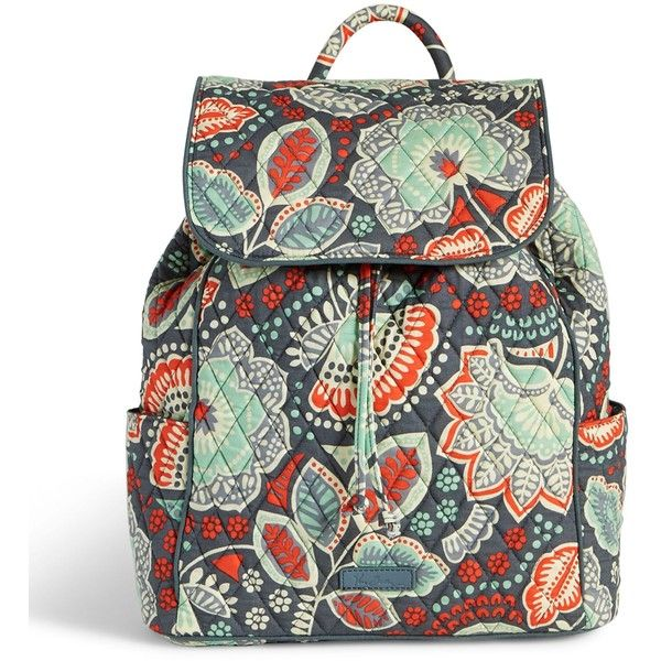 Vera Bradley Drawstring Backpack in Nomadic Floral (215 BRL ...