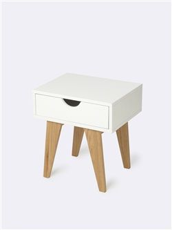 table de chevet enfant blanc table de chevet bedroom. Black Bedroom Furniture Sets. Home Design Ideas