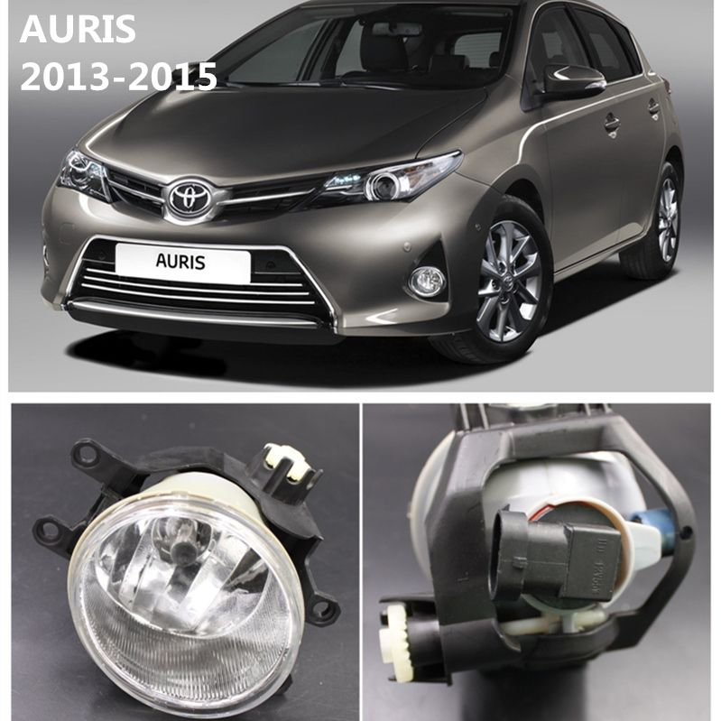 For Toyota Auris 2013 2015 Front Bumper Lights Fog Lamps Halogen Car