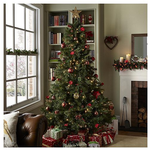 Tesco Direct 7ft Luxury Regency Fir Christmas Tree Fir Christmas Tree Christmas Tree Christmas