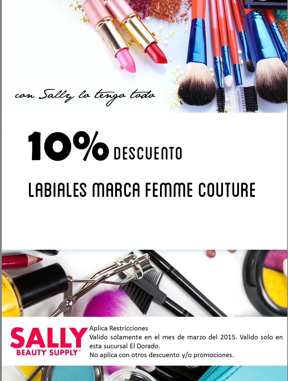 Sally Beauty Supply les tiene un 10% de #descuento por todo el mes de #marzo.