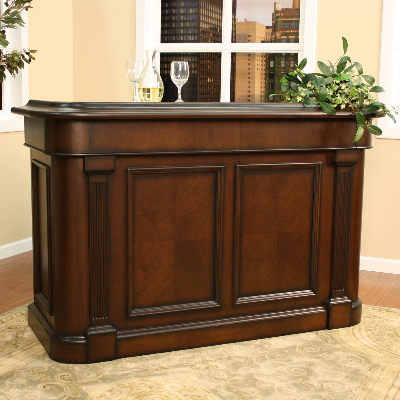 This Beautiful Gilliam Home Bar Is Not Only A Functional