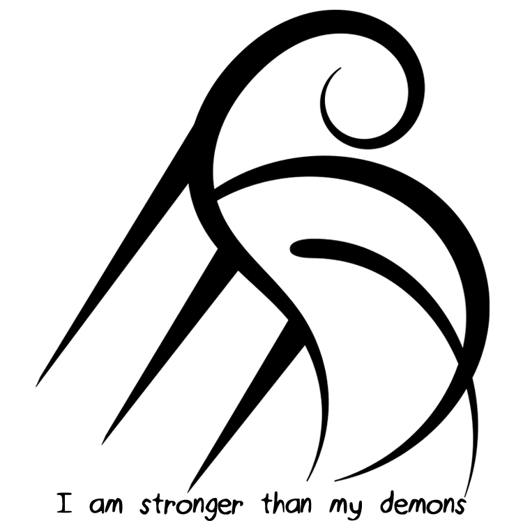 I Am Stronger Than My Demons Sigil Its Been A While Since Ive