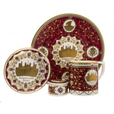 Hampton Court Palace 500 commemorative chinaware