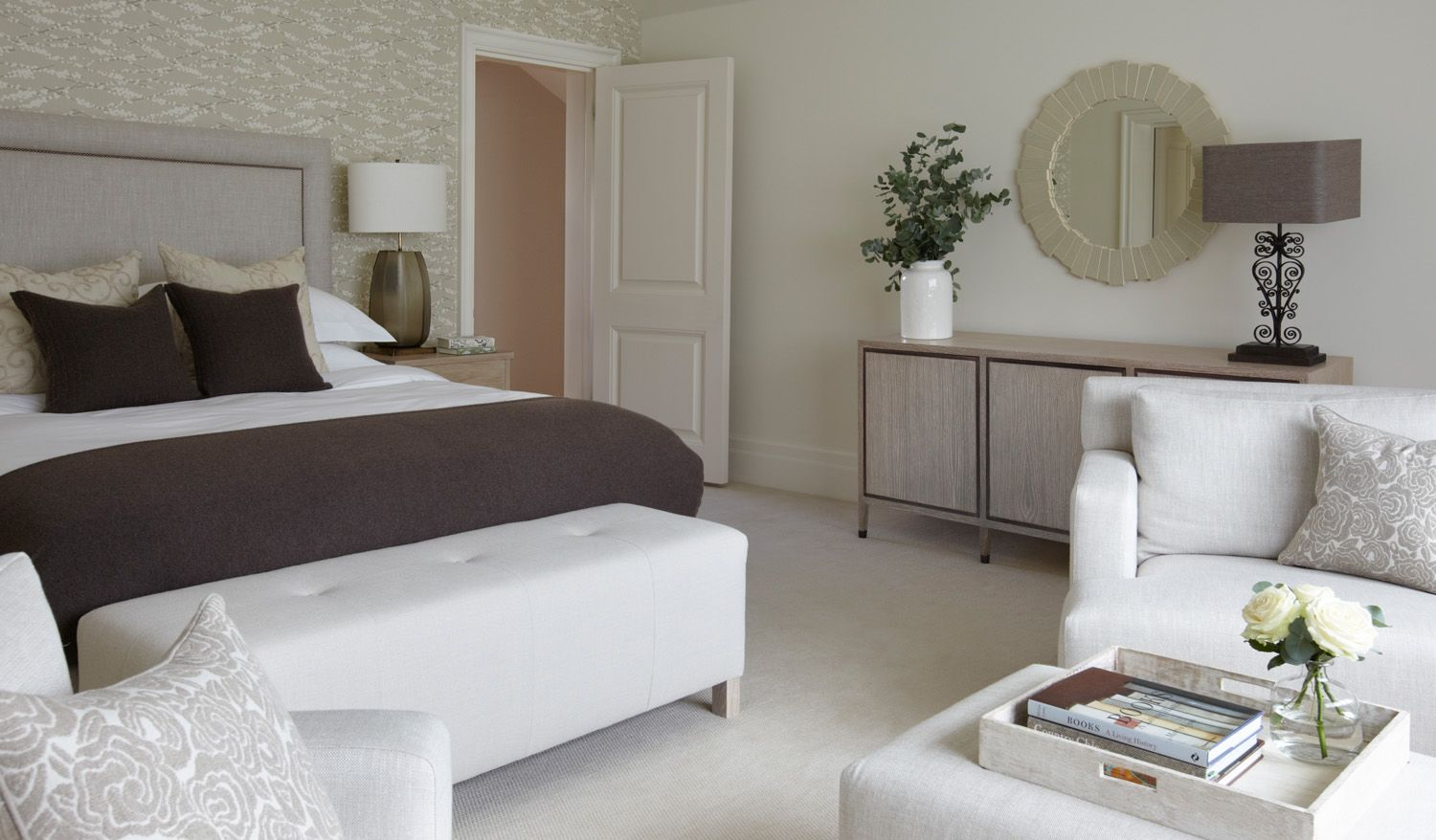 helen green country house hampshire | bedrooms | pinterest