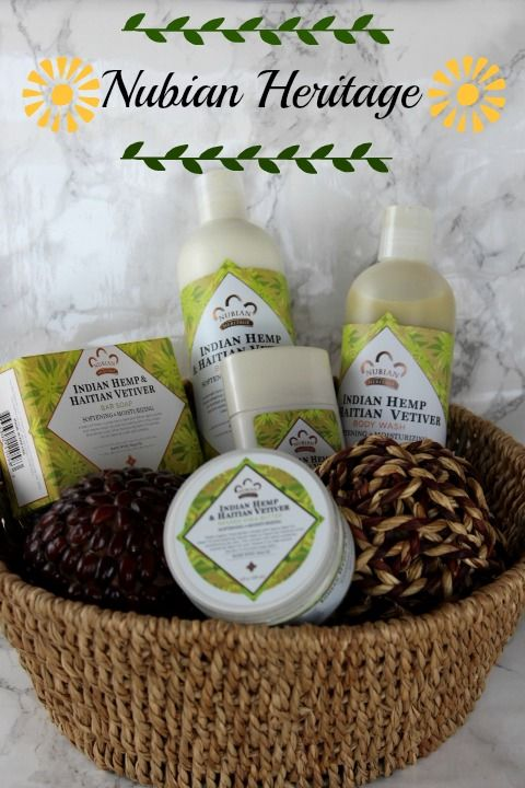 Nubian Heritage Indian Hemp and Haitian Vetiver Collection!