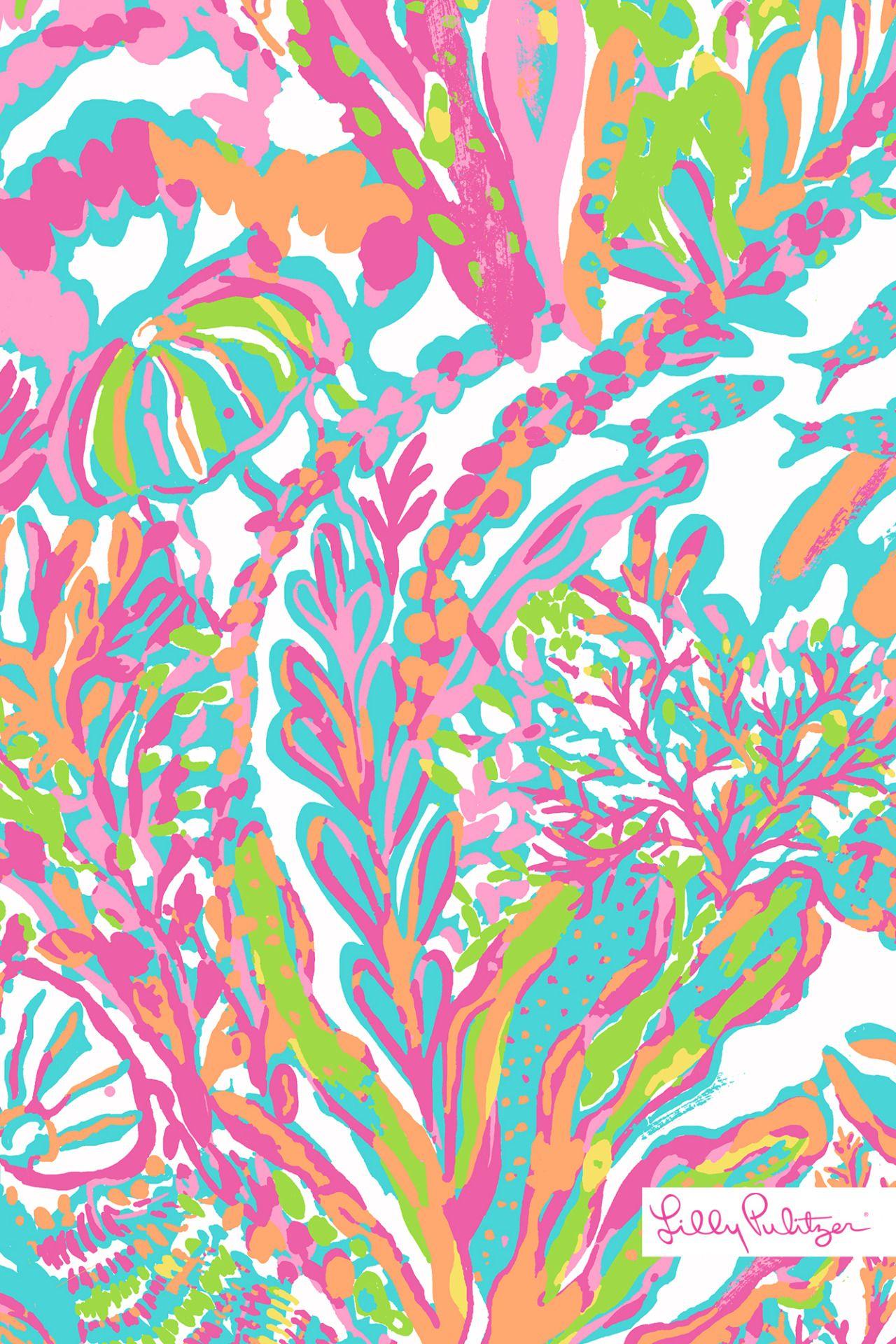 Scuba to Cuba Summer 2015 Lily pulitzer wallpaper