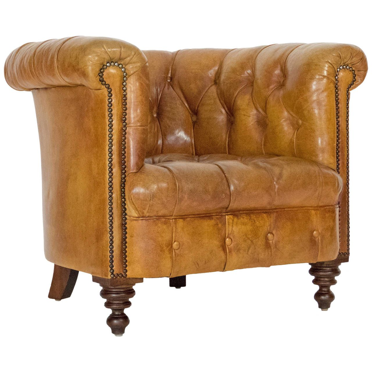 Best Leather Chesterfield Armchair Leather Chesterfield 400 x 300