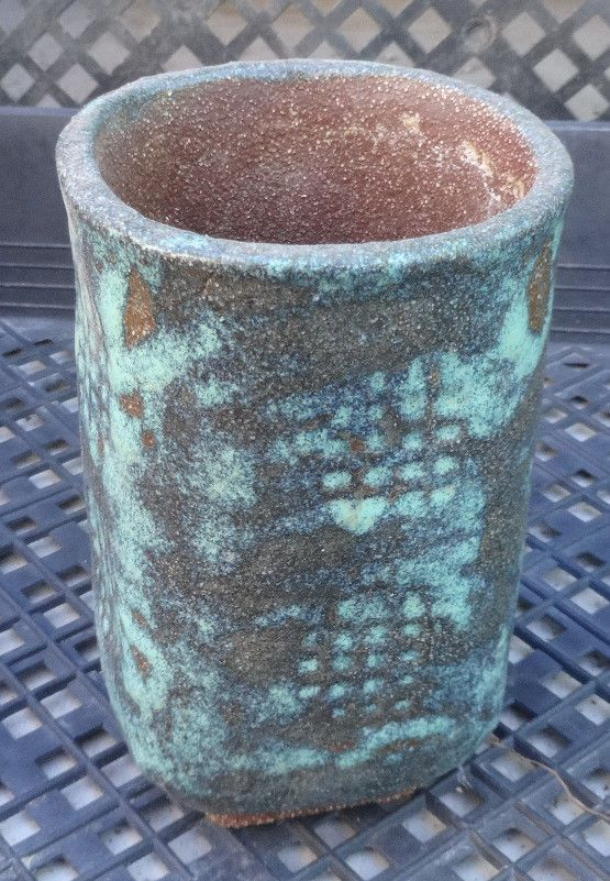 Handmade Pottery for Cactus and Succulent Plants Un-gloss Islands in the Sky 18 ie.picclick.com