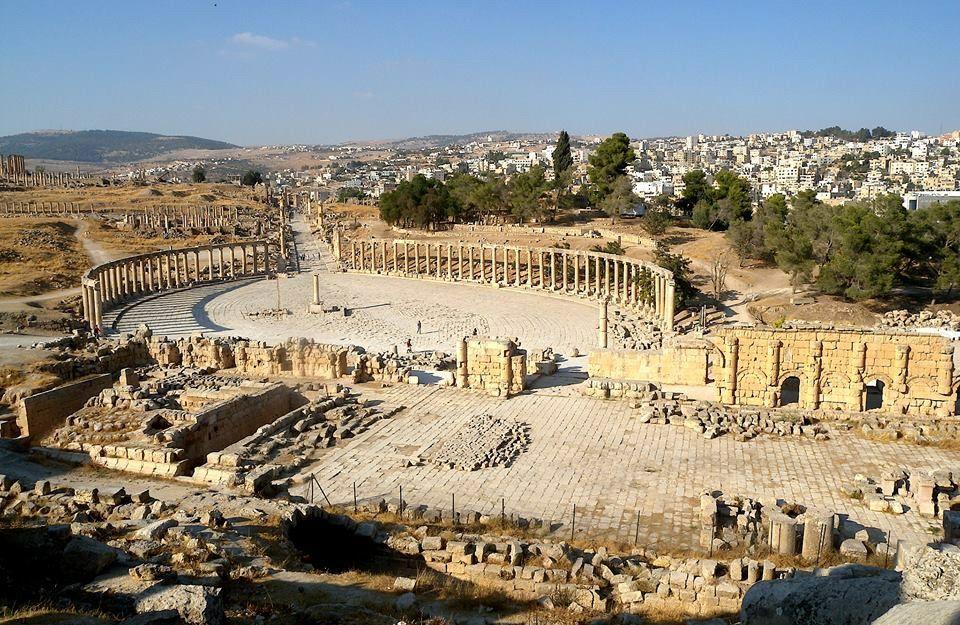 El Foro de Jerash, Jordania