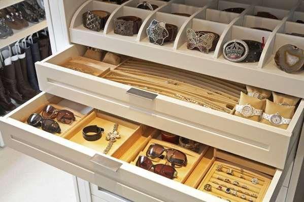 diy jewelry organizer drawer Walkin closet Pinterest
