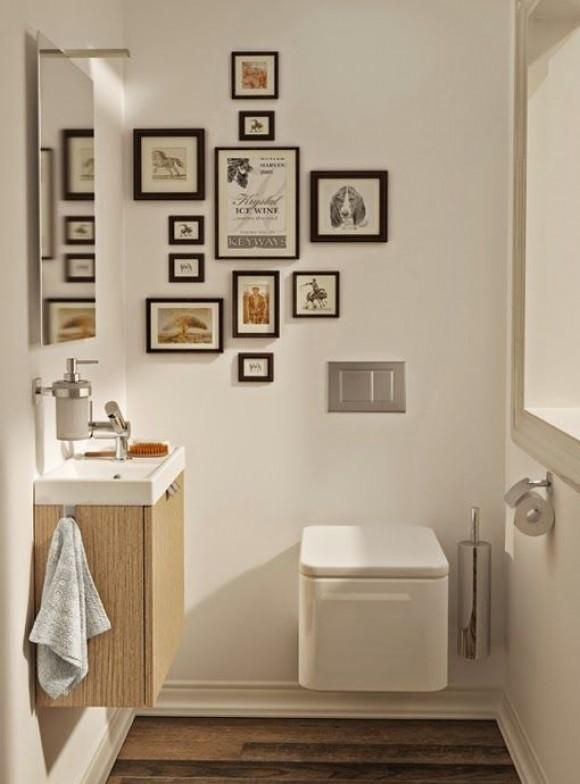 Decorar paredes con muuuchos cuadros | Decorar tu casa es facilisimo.com