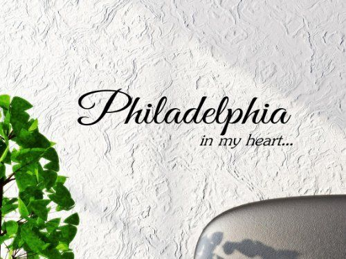 Philadelphia in My Heart... 22x6 Inches Vinyl Car Sticker Symbol Silhouette Keypad Track Pad Decal Laptop Skin Ipad Macbook Window Truck Motorcycle SSC inc. http://www.amazon.com/dp/B00M4DGNXO/ref=cm_sw_r_pi_dp_0MO0tb1KTYRN434C