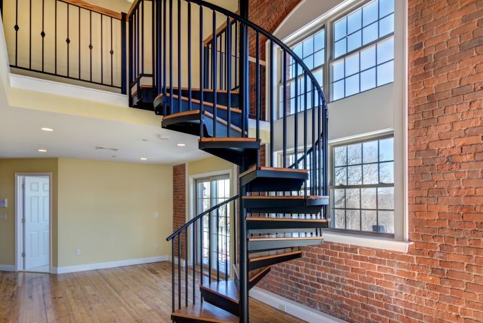4 Ways To Use Minimalist Home Design Salter Spiral Stair