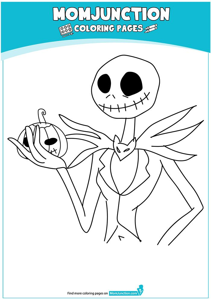 Nightmare Before Christmas Coloring Page nightmare crafts - best of butterfly coloring pages momjunction