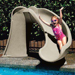Cyclone Fun Pool Slide Small Pool Slide For Kids Swimming Pool