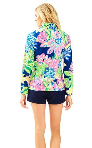 3917e296064973 UPF 50+ Skipper Popover in Travelers Palm Lilly Pulitzer, Southern Prep,  What To