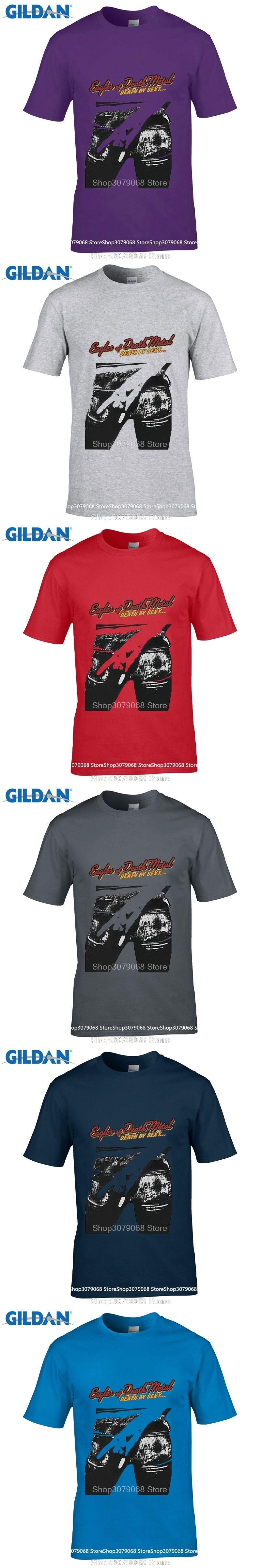 600ca4f81efe2d GILDAN style s t shirts Solid Color Eagles Of Death Metal Death By Sexy  Alternative O-