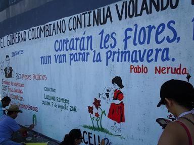 Programa Asturiano de DDHH verifica violación de DDHH en Colombia