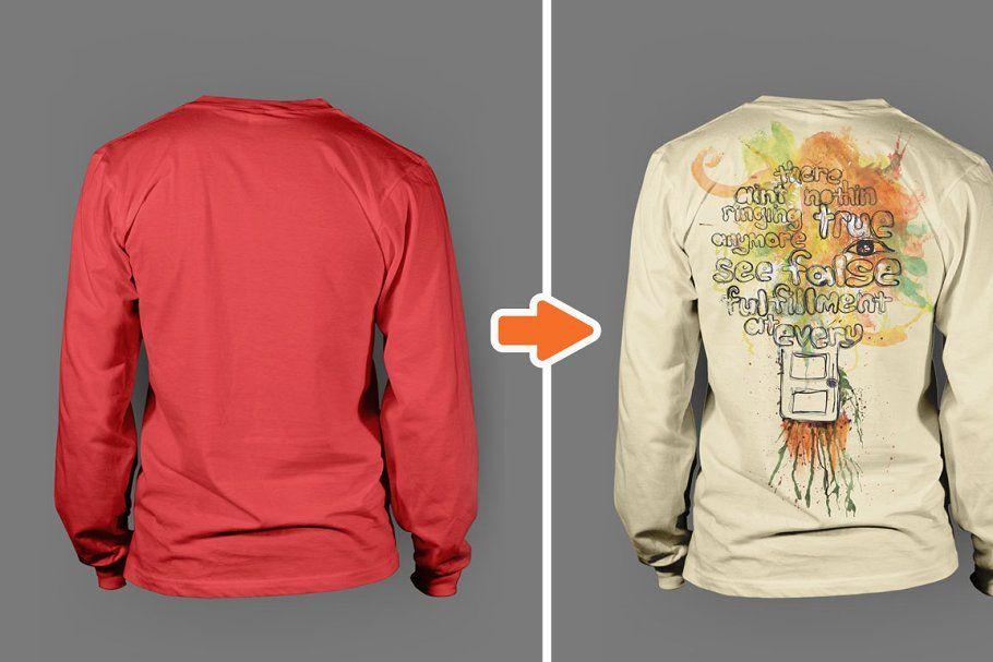 10401+ Long Shirt Mockup Amazing PSD Mockups File