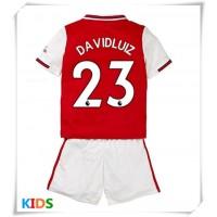 Photo of Maglie da calcio Arsenal David Luiz # 23 Prima Maglia Bambino 2019-20 Manica Cort …