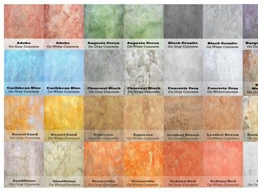 Soycrete Architectural Concrete Stains Eco Safety Products Phoenix ...