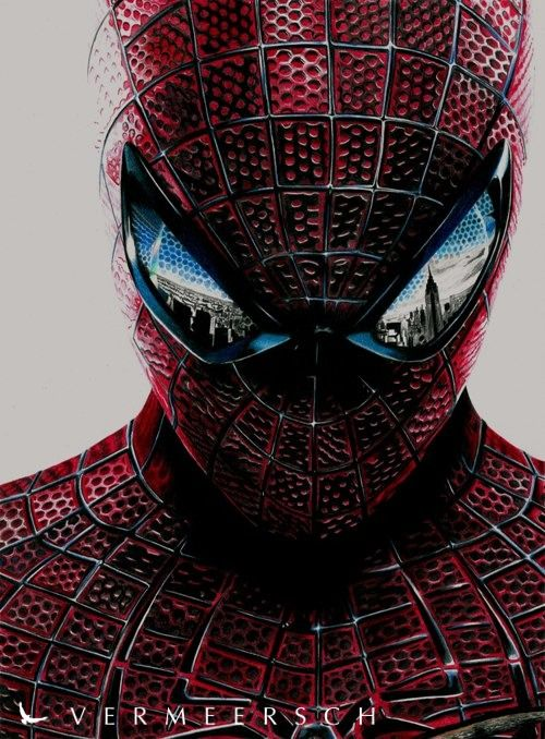 the amazing spider man colour drawing - Spiderman Drawings To Color