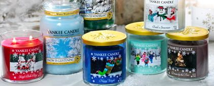 """Winter Wonderland from Yankee Candle.  All new fragrances created in harmony with the classic holiday song, """"Winter Wonderland""""."""