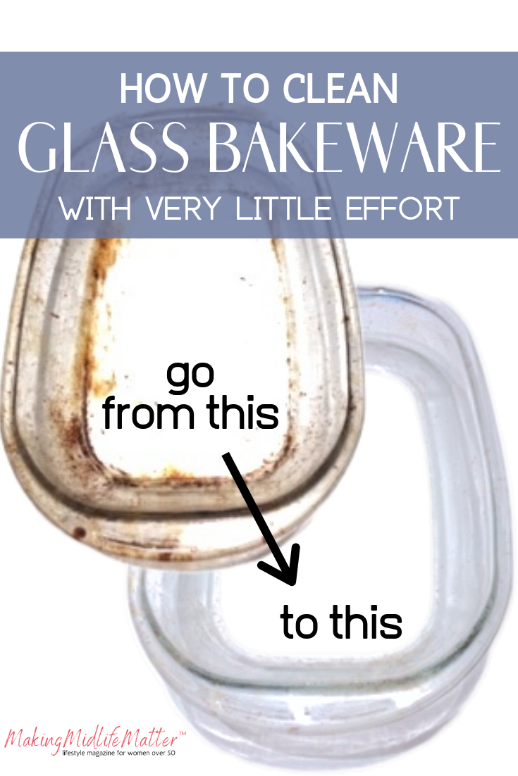 How To Get Glass Bakeware Sparkling Clean With Very Little Effort is part of Glass bakeware, Cleaning glass, Cleaning dishes, Clean baking pans, Bakeware, Cleaning - This is a really simple hack for how to clean bakedon grease and stains off of glass baking dishes  You will be AMAZED at how easy it is to get your glass bakeware looking like new with very little effort