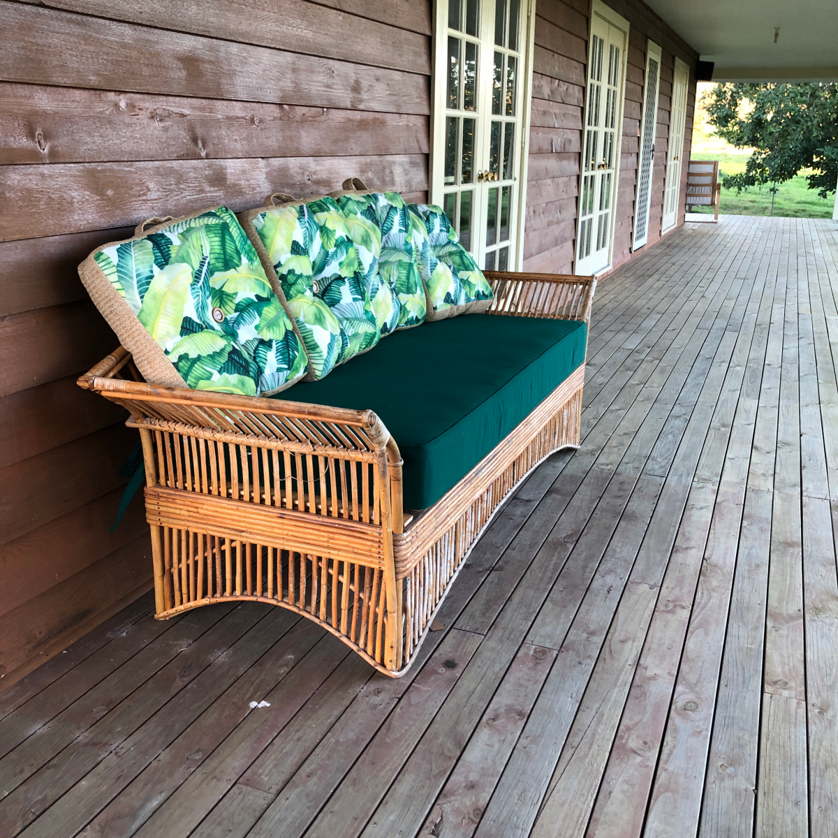 July was definitely Bench Cushion month so we thought we'd