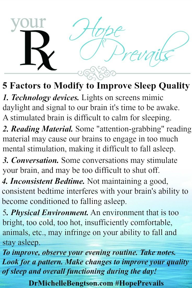 5 Factors That Jolt Your Mind Awake At Bedtime | Dr. Michelle Bengtson