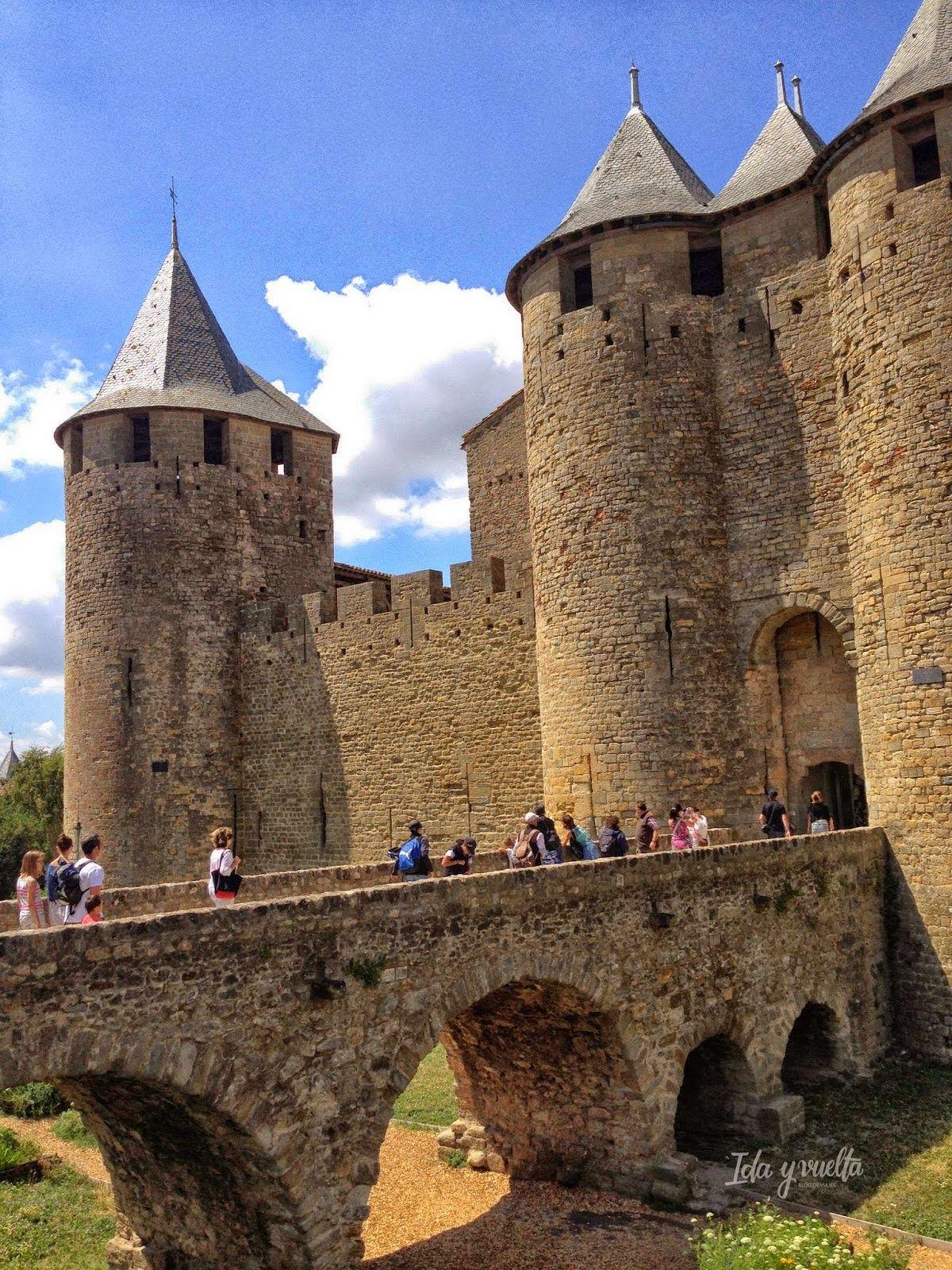Castillo Condal de Carcasona, Francia