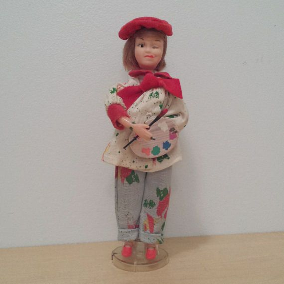 Topper Doll Deluxe Reading Go-Go Doll by DanushasCollectibles