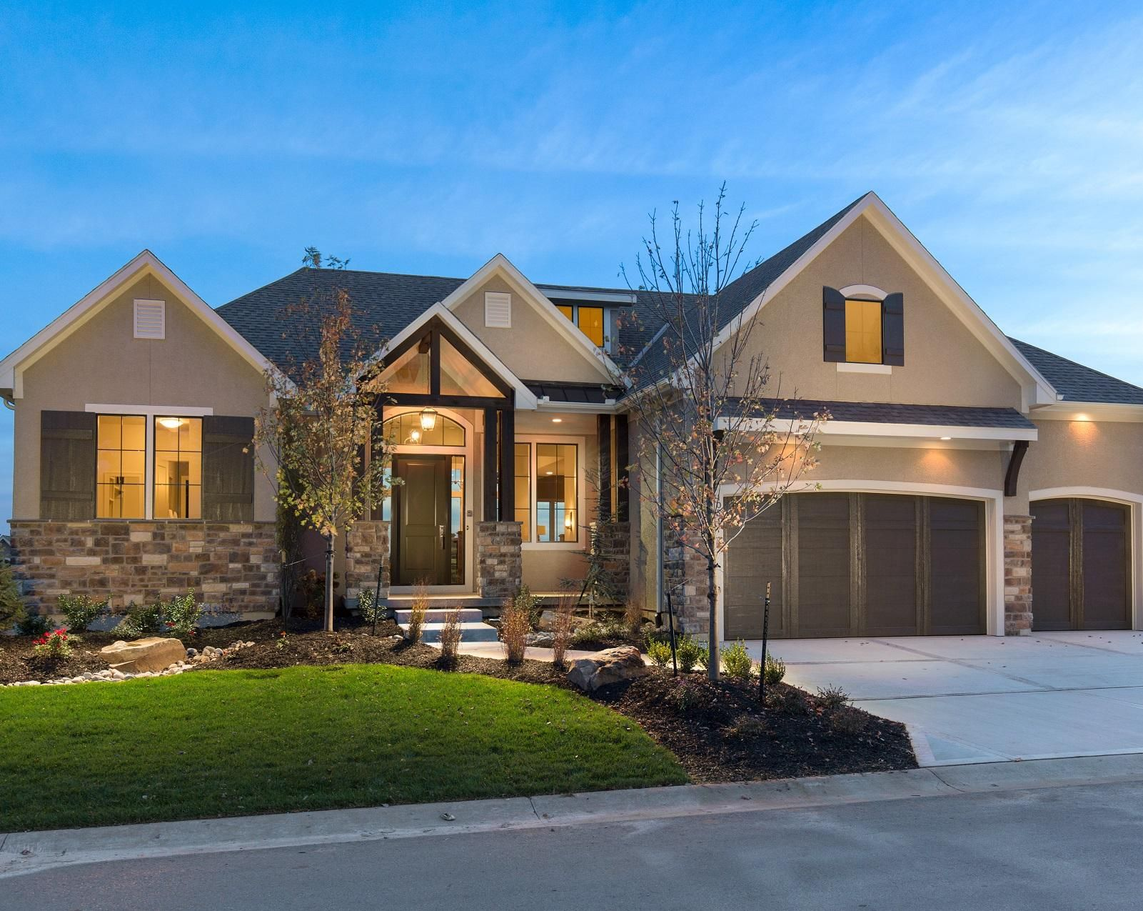 Starr Homes Kansas City Home Builders Model Homes Ranch Style Homes Luxury Homes Dream Houses