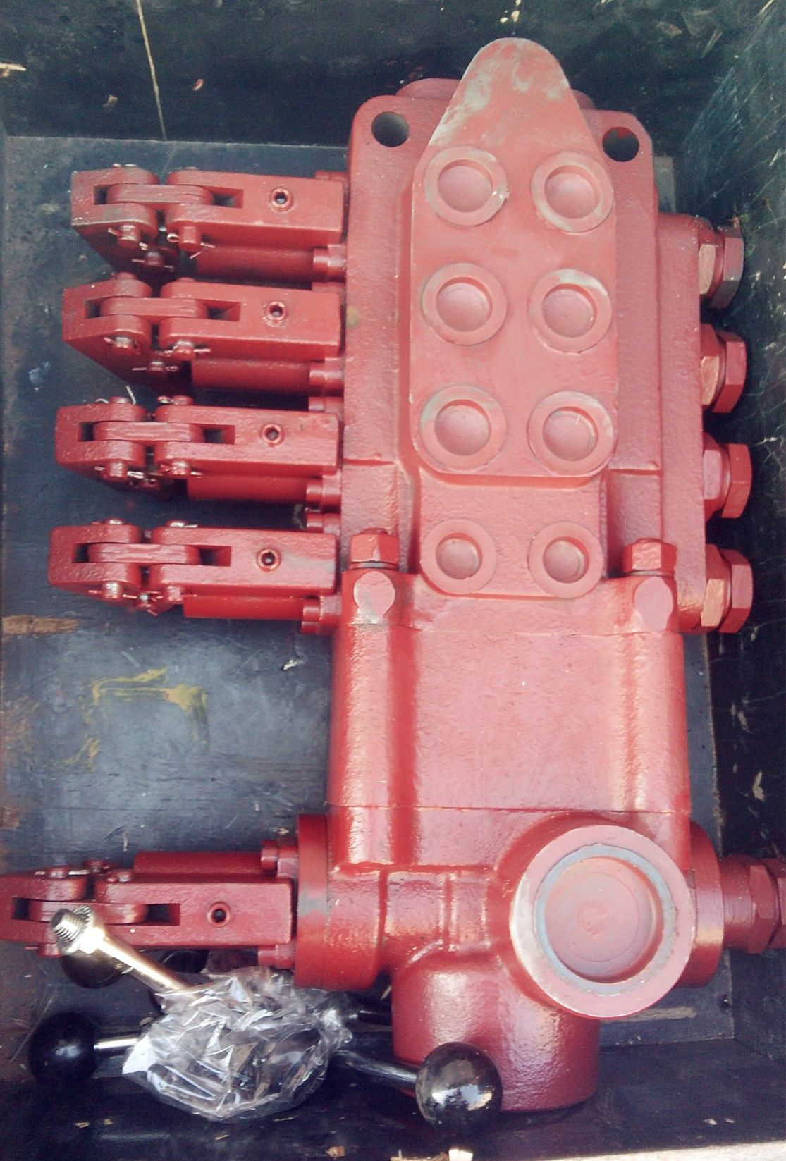 DRILL PANGOLIN valve bank is installed in CM351 Ingersoll