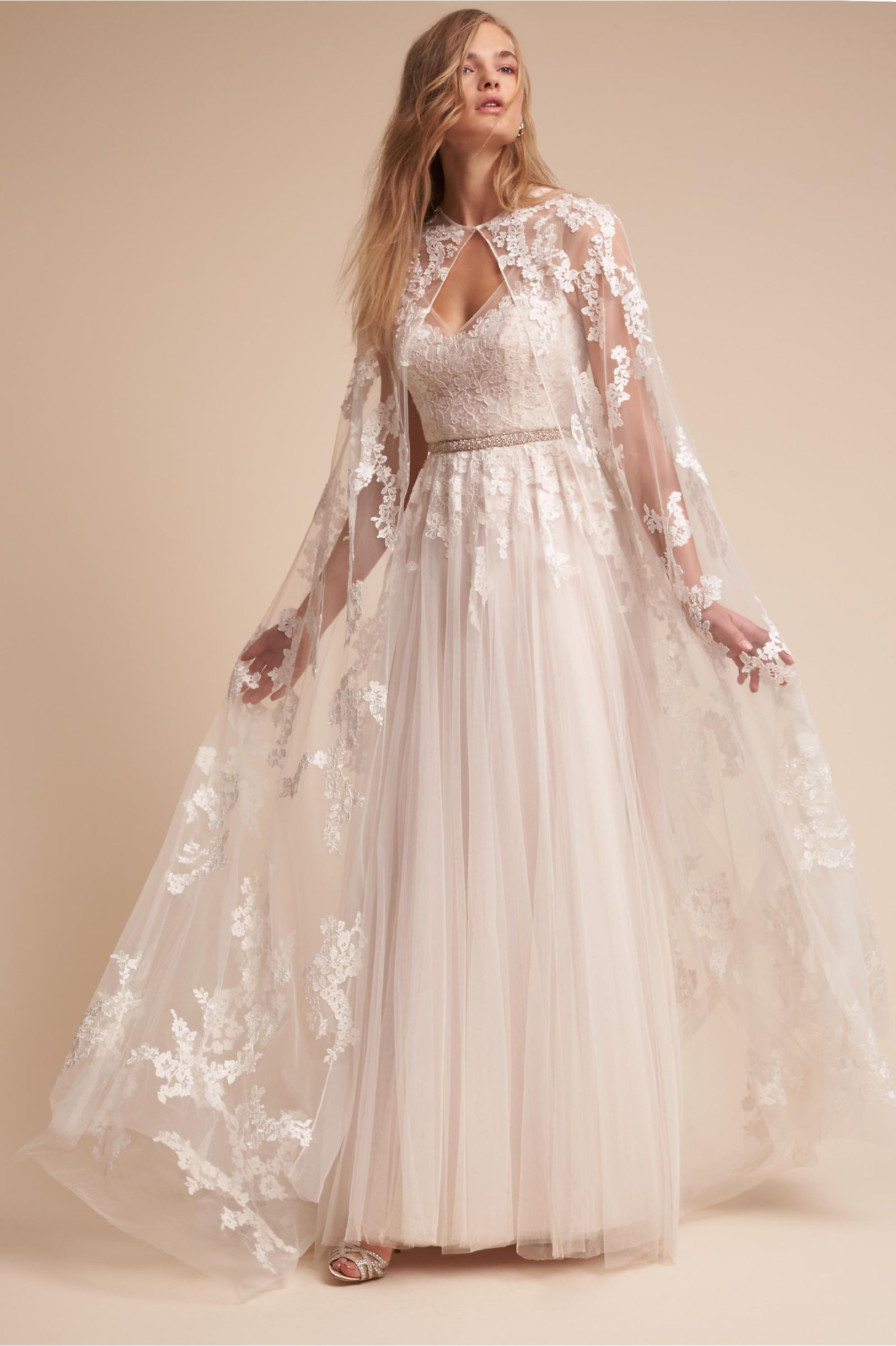 Eddy K Anastasia Cape Wedding Dresses Bridal Cape Lace Weddings