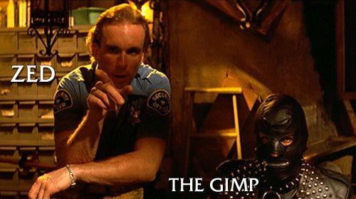 Zed The Gimp Pulp Fiction Fiction Fiction Movies