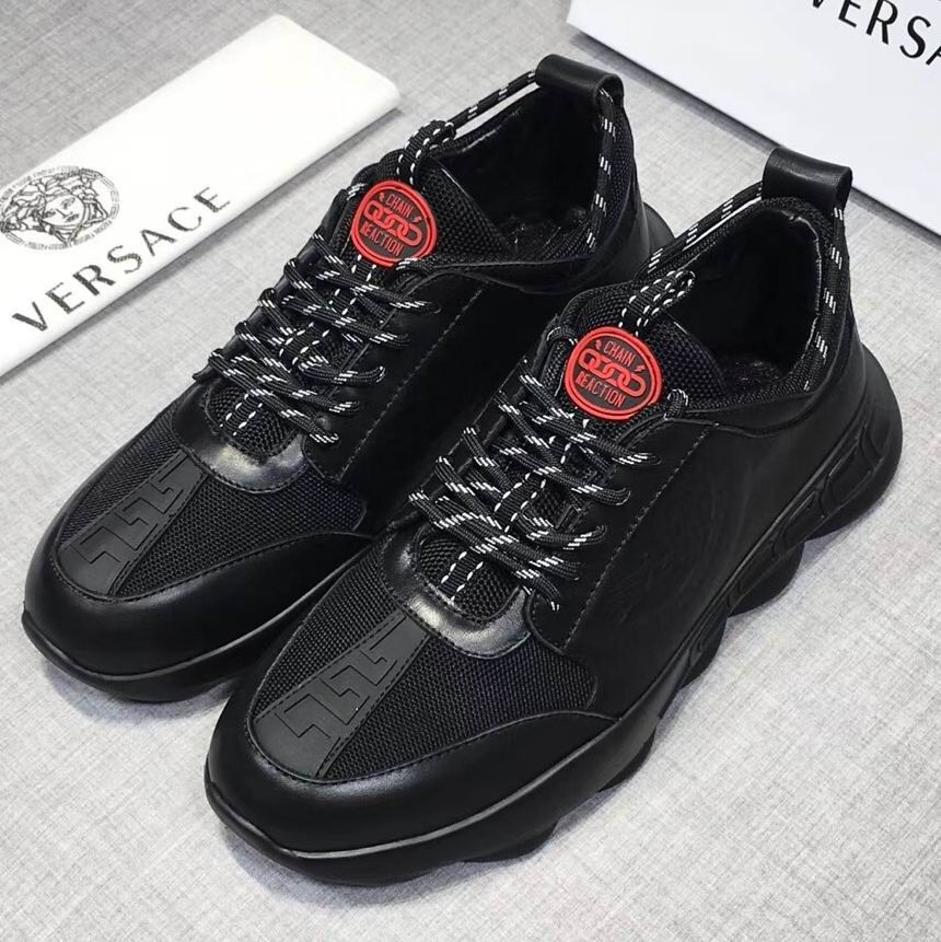 a6058057 Versace Chain Reaction Sneakers | Versace Mens Shoes in 2019 ...